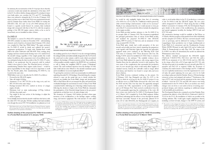"Extract from the Chapter ""Fw 190D-15 – the ultimate development"""